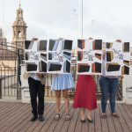 La Plaça del Llibre es reivindica com a encontre urbà de la literatura valenciana amb un cartell dissenyat per Ibán Ramón
